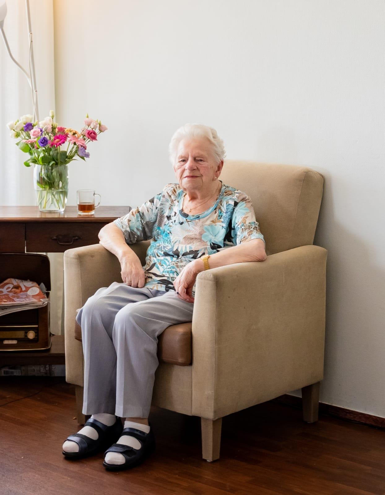 Tante Gré Imthorn overleden