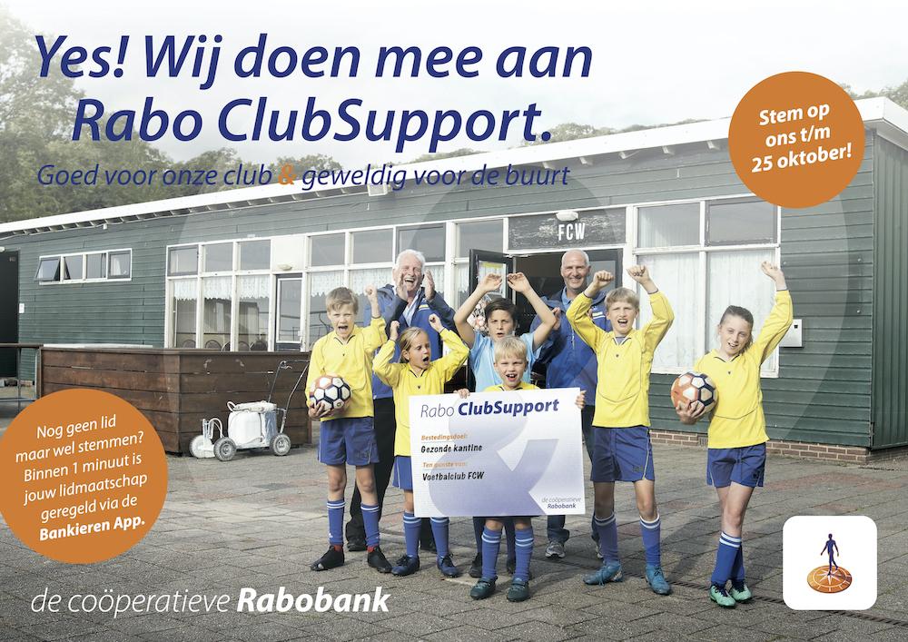Doe mee met Rabo ClubSupport. Stem Valken'68!!!